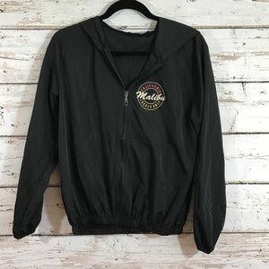 Brandy Melville Hooded Black Jacket